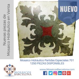 Mosaico Hidráulico Partidas Especiales 701