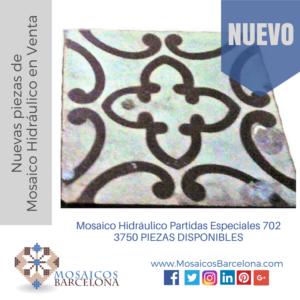 Mosaico Hidráulico Partidas Especiales 702