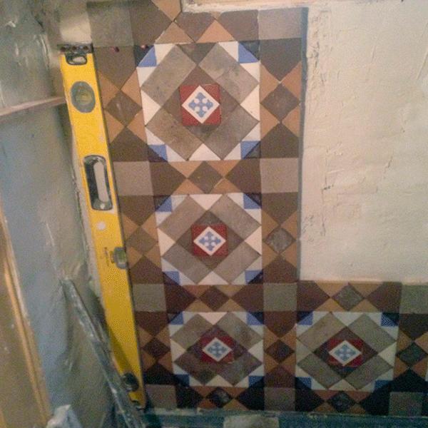 MosaicosBarcelona | Recuperaciones de paredes en mosaico nolla Barcelona