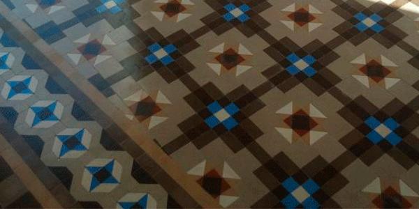 MosaicosBarcelona | Abrillantado de pavimento hidraulico Barcelona