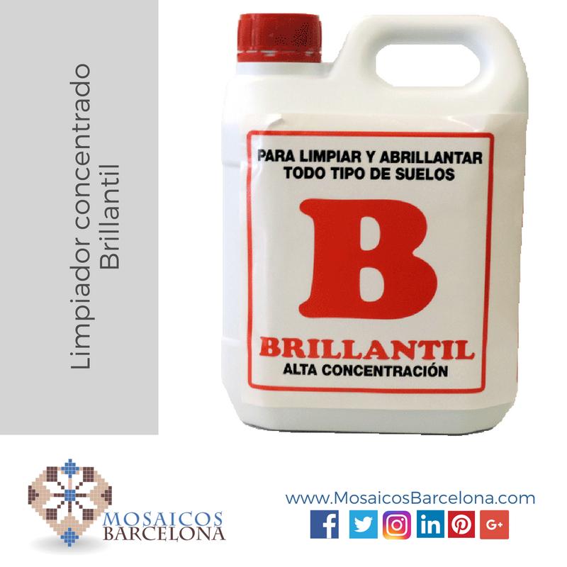 MosaicosBarcelona | Limpiador concentrado Brillantil