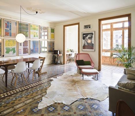 Renovación de Apartamentos en Consell de Cent por Bach Arquitectes