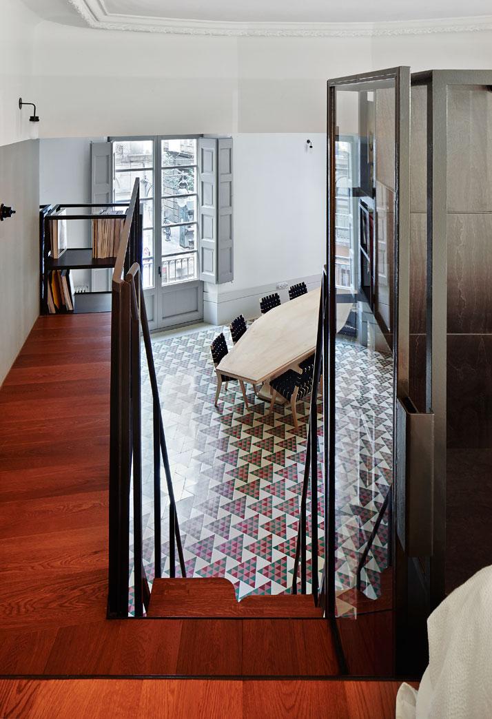 Carrer Avinyó Apartamento de David Kohn Architects en Barcelona, España