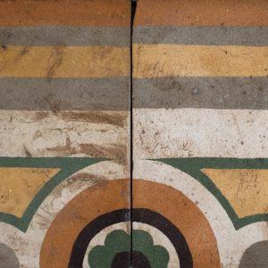 Mosaico Hidráulico Cenefa 008