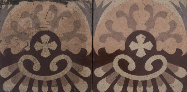 Mosaico Hidráulico Cenefa 018