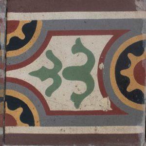 Mosaico Hidráulico Cenefa 019