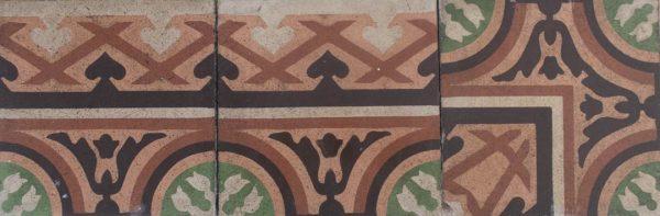 Mosaico Hidráulico Cenefa 023