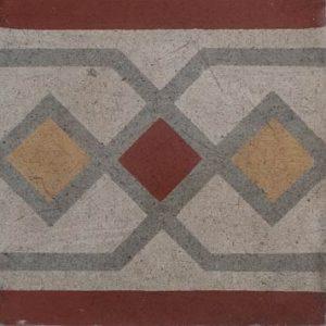 Mosaico Hidráulico Cenefa 026