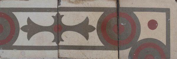 Mosaico Hidráulico Cenefa 030