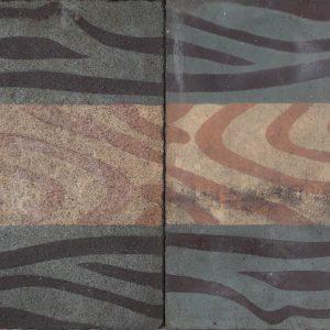 Mosaico Hidráulico Cenefa 034