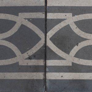 Mosaico Hidráulico Cenefa 036