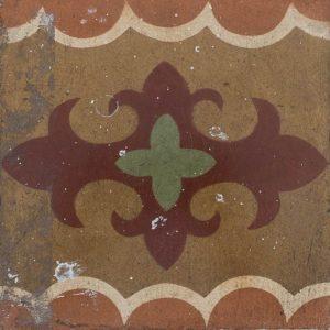Mosaico Hidráulico Cenefa 038