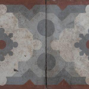 Mosaico Hidráulico Cenefa 045