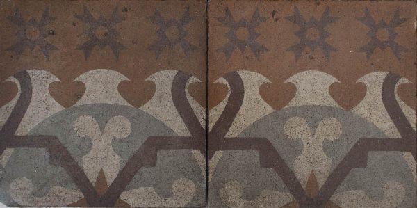 Mosaico Hidráulico Cenefa 050