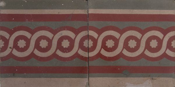 Mosaico Hidráulico Cenefa 052
