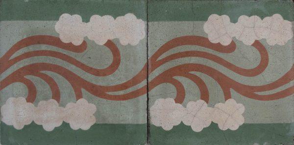 Mosaico Hidráulico Cenefa 053