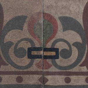 Mosaico Hidráulico Cenefa 055