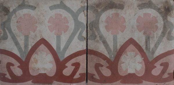 Mosaico Hidráulico Cenefa 060