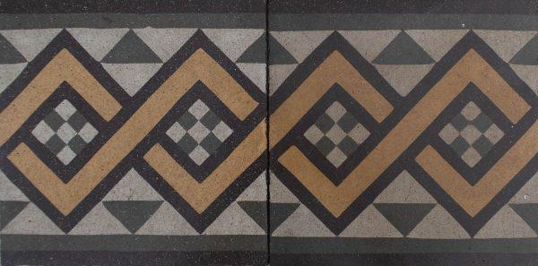 Mosaico Hidráulico Cenefa 063
