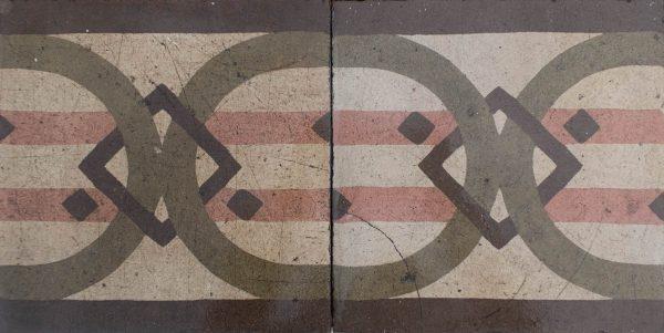 Mosaico Hidráulico Cenefa 064