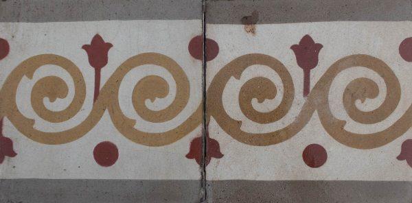 Mosaico Hidráulico Cenefa 065
