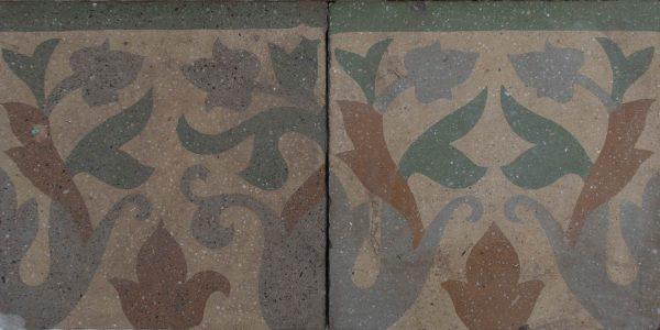 Mosaico Hidráulico Cenefa 068