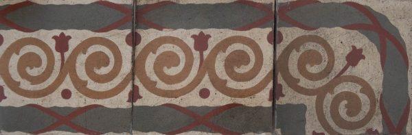 Mosaico Hidráulico Cenefa 073