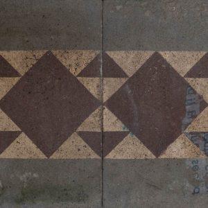 Mosaico Hidráulico Cenefa 074