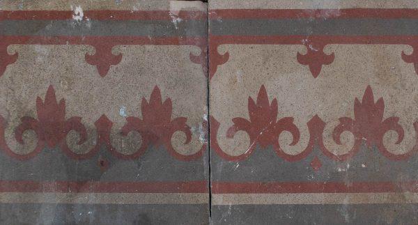 Mosaico Hidráulico Cenefa 075