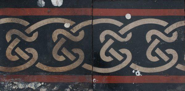 Mosaico Hidráulico Cenefa 086
