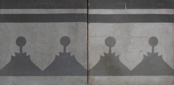 Mosaico Hidráulico Cenefa 087