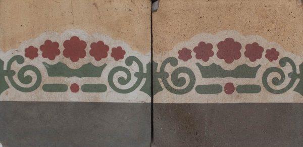 Mosaico Hidráulico Cenefa 088
